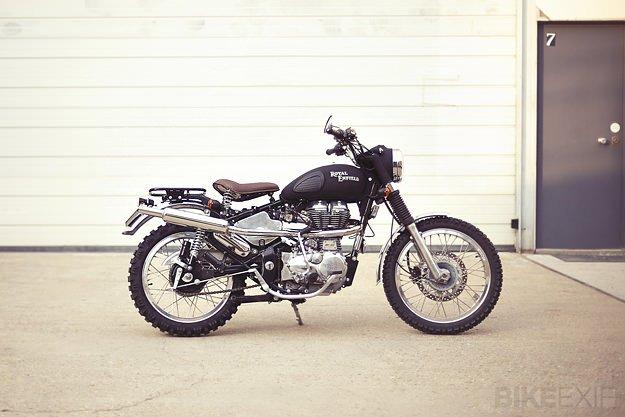 Royal Enfield custom motorcycle | Bike EXIF