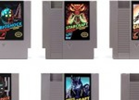 Classic Nintendo Gaming Cartridges