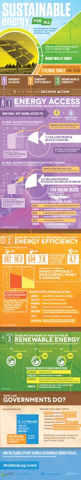 Sustainable Energy for All - What Will It Take?