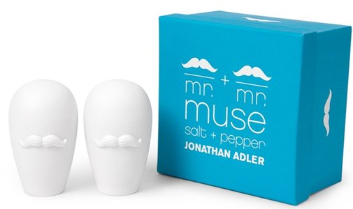 Moustache Salt & Pepper Shakers   That Should Be Mine