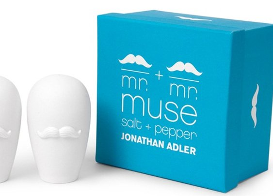 Moustache Salt & Pepper Shakers | That Should Be Mine