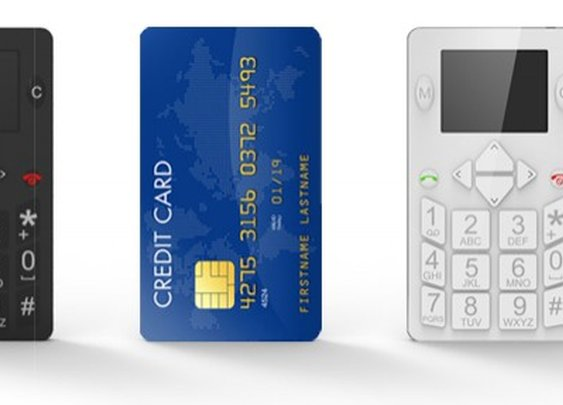 Micro-Phone combines a GSM phone and locator in a credit-card sized package