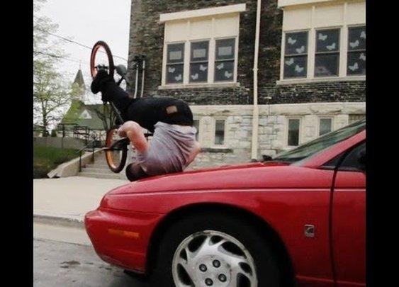 Original Bike Tricks from Tim Knoll - YouTube