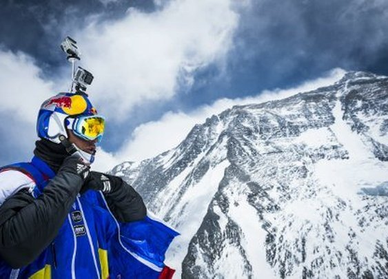 48-Year-Old Russian Has World Record BASE Jump Off Mount Everest With Video