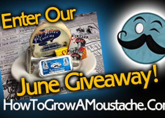 June Giveaway | How to Grow a Moustache