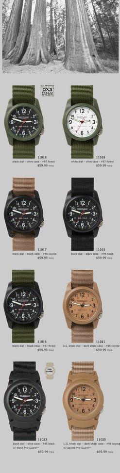 Bertucci Performance Field Watches - DX3 Field