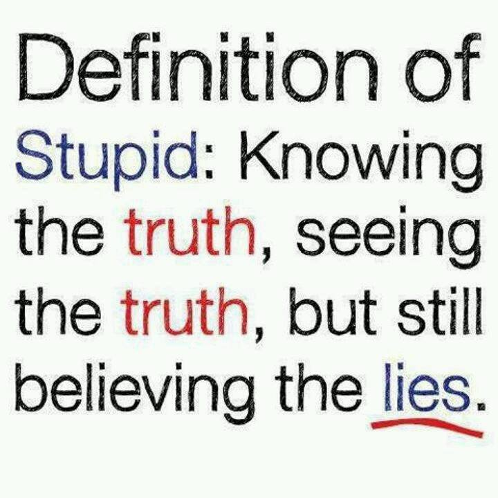 Definition of stupid