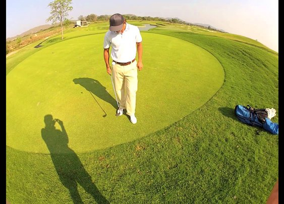 GOPRO GOLF TRICKS ROMAIN BECHU 2013 - YouTube