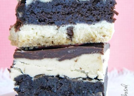 Tagalong Brownie Cookie Bars