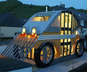 Car-shaped House: I Call Shotgun
