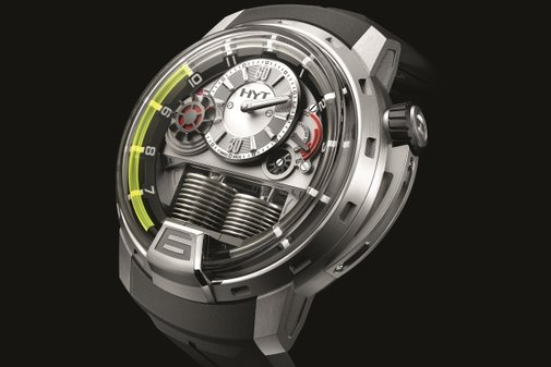 HYT H1 Hydromechanical Men's Watch | Baxtton