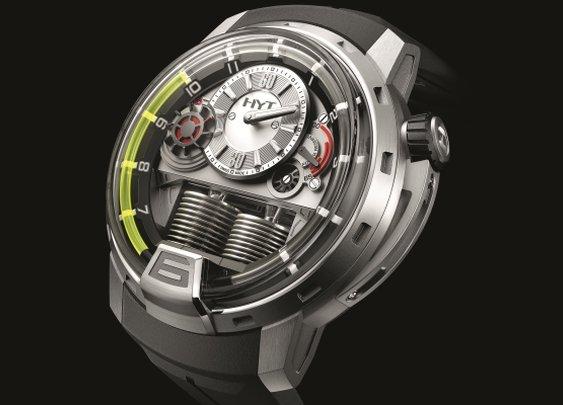 HYT H1 Hydromechanical Men's Watch | Baxtton