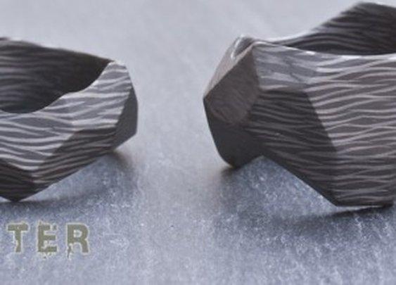 Solid Carbon Fiber Rings