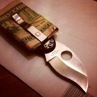 Money Clip Folding Knife by Spyderco