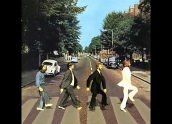 The Beatles Abbey Road Silly Walks