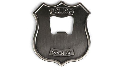 Police Badge Bottle Opener | inStash