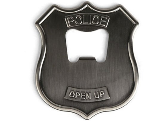 Police Badge Bottle Opener | inStash