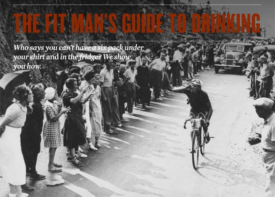 The Fit Man's Guide to Drinking