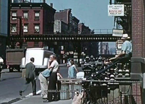 Rare Color Footage of Depression-Era New York
