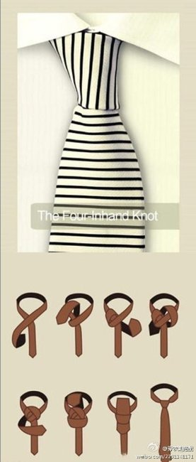 The four-inhand knot