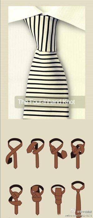 The four-inhand knot