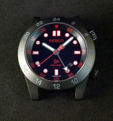 Resco Instruments — The Red Circle GMT