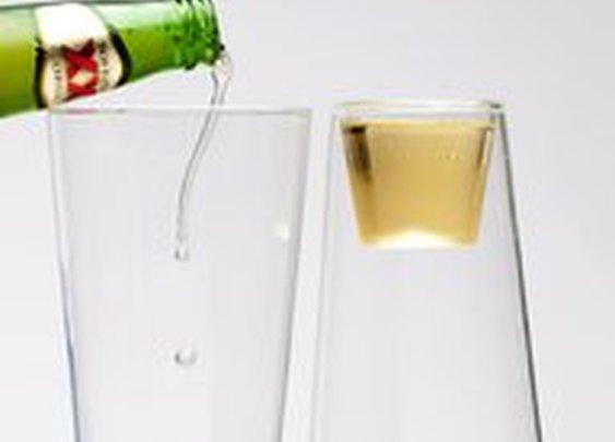 Fancy - Beer/Shot Glass