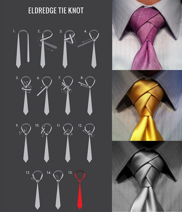 The Eldredge Tie Knot - Imgur