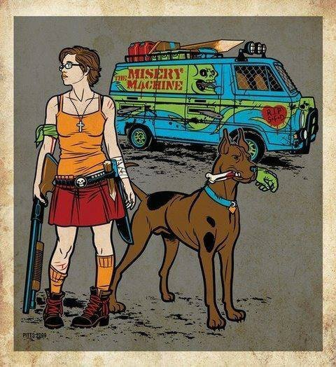 Velma goes zombie hunting