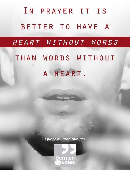 Beware Words Without A Heart