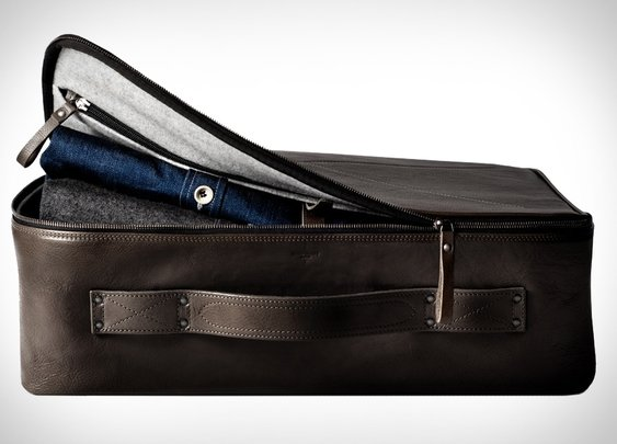 Hard Graft Carry On Suitcase | Uncrate