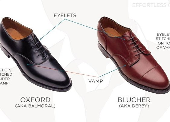 Oxford or blucher?