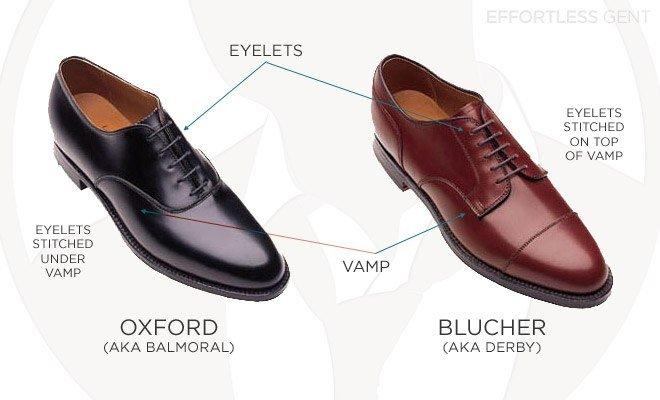Oxford or blucher?