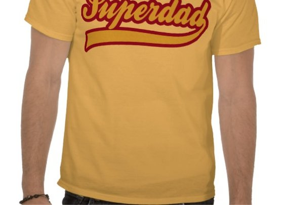 Superdad Tees from Zazzle.com