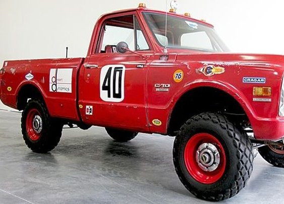 Steve McQueen's Chevy Baja truck up for auction