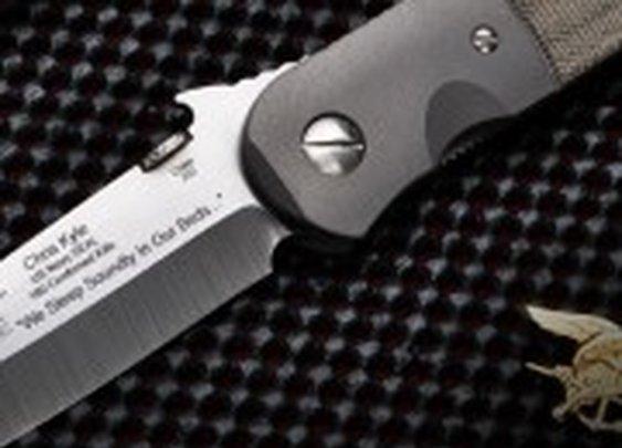 Custom knife to be auctioned for slain Navy SEAL's family