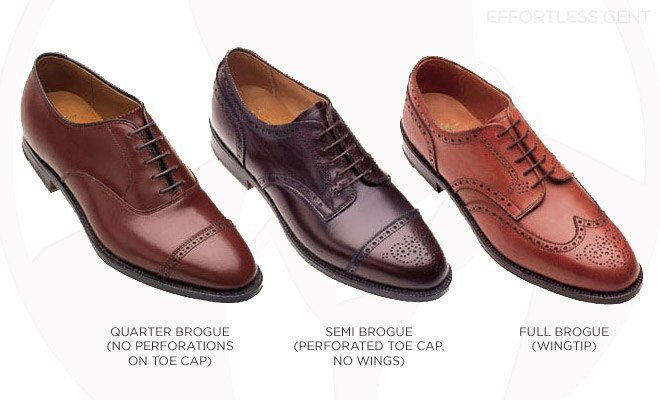 Brogues. Learn the difference.
