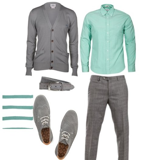 Patricia Trepanier Fashion Stylist For Men | Outfit Idea: Mint green for him
