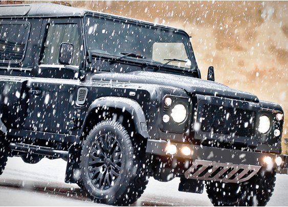 LAND ROVER DEFENDER XS90