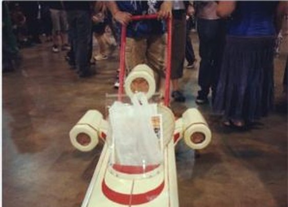 Landspeeder Stroller [Pic] | Geeks are Sexy Technology News