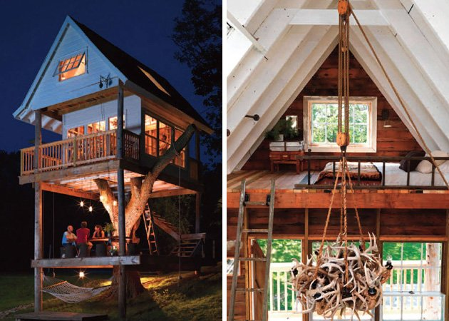 Rustic Three Level Tree Cottage | Inthralld