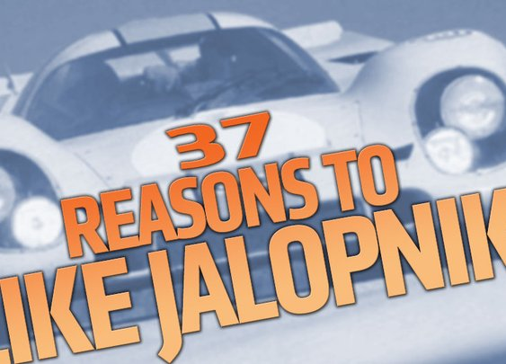 37 Reasons To Follow Jalopnik