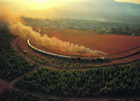 THE WORLD GEOGRAPHY: 10 Fascinating Train Routes Across The World