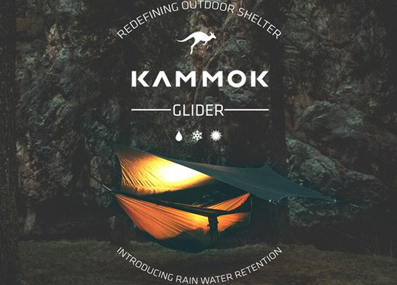 Kammok Glider: Rain Tarp & Weather Relief Shelter Redefined by The KAMMOK Team — Kickstarter