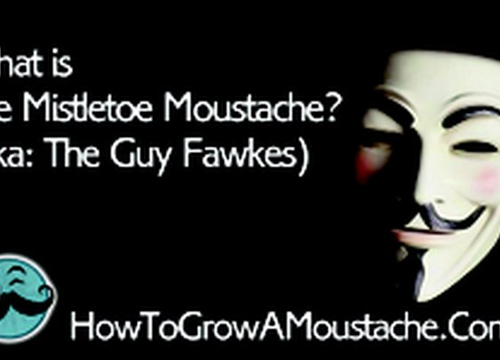 What is The Mistletoe Moustache? (aka: The Guy Fawkes) | How to Grow a Moustache