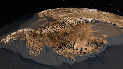 Antarctic's Mountains Revealed By Sharpest Map Yet