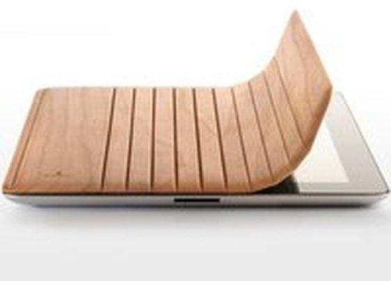 Mk2 Wood iPad Cover