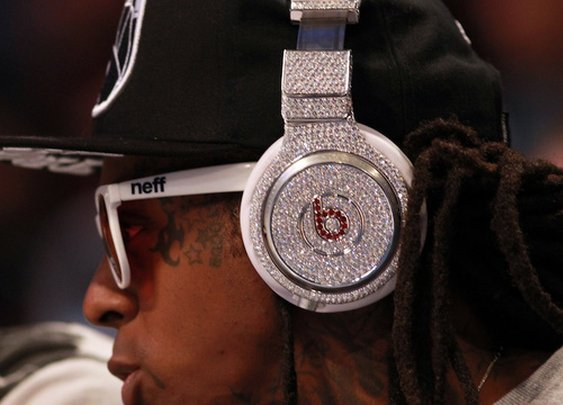 Diamond Studded Beats by Dre.