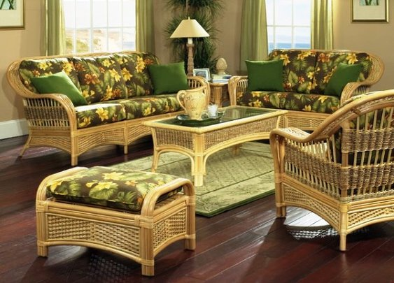 Rattan Furniture Set for Outdoor and Indoor   Tropical Furnitures