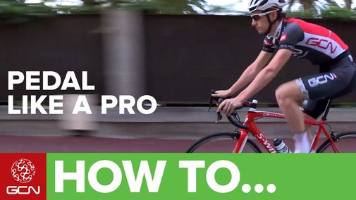 How To Pedal Like A Pro - YouTube
